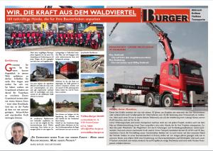 Zeitungsausschnitt Bezirksblätter